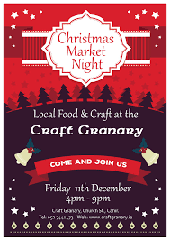 upcoming events cahir christmas food and craft market