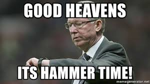 Hammer Time Meme - good heavens its hammer time oh look at the time meme generator