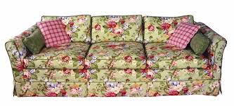 girly vintage terracotta sofa with flower pattern wedding themes