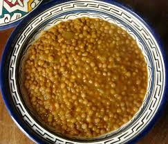 traditional moroccan stewed lentils recipe