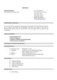 Sample Engineering Resume For Freshers Describe The Components Of An Effective Resume Format College Book