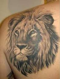 lion back tattoo golfian com