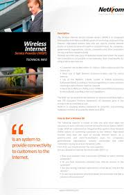 wireless internet is an system to provide connectivity to