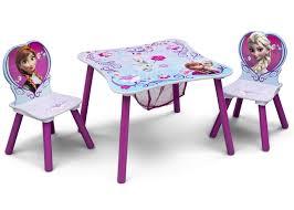 frozen table u0026 chair set with storage delta children u0027s products