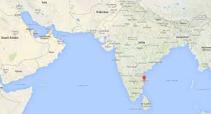 Where Is India On The Map by Chennai India Nigel Of Arabia