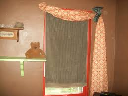 Patterned Window Curtains Orange Patterned Window Curtains Curtain Rods And Window Curtains