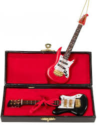 electric guitar ornament with tree rock