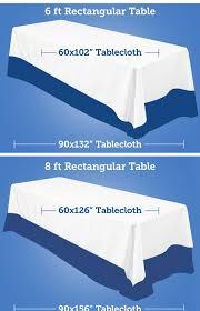Table Linen Sizes - party bowl linens
