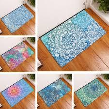 tappeti da bagno tappetino da bagno mandala tappeto 50x80 cm fiore stato