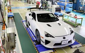 lexus lfa torque last lexus lfa leaves production line