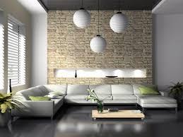 natursteinwand wohnzimmer haus renovierung mit modernem innenarchitektur schönes