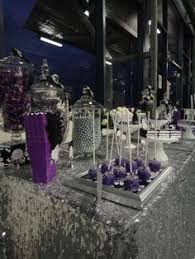 Black And White Candy Buffet Ideas by Purple Candy Buffets Time For The Holidays Purple Pinterest