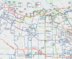 Vta Light Rail Map Vta Bus 32 The Best Bus