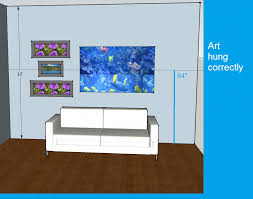 How To Hang Art On Wall by Ideas On How To Hang Artwork Painting Pets And People How To Hang