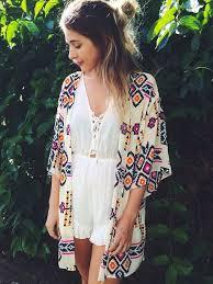 hippie jumpsuit shoes jacket cardigan festival pattern white lace jumpsuit