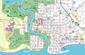 rub and tug map a map of springfield by jerry lerma and terry the simpsons
