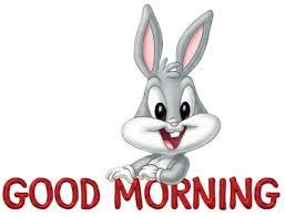 bugs bunny good morning good morning