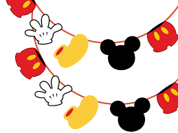 Mickey Mouse Flag Mickey Mouse U0026 Friends Birthday Magical Printable