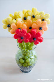 fruit flower arrangements best 25 fruit arrangements ideas on fruit decorations