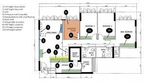 5 room floor plan our yishun greenwalk 5 room simple simple reno journey reno t