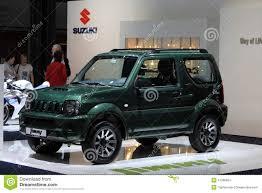 jimmy jeep suzuki suzuki jimny bij ami leipzig duitsland redactionele stock foto