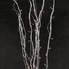 Branches With Lights Silver Glitter Artificial Tree Branches Wedding Table Tree Home