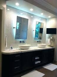 illuminated bathroom mirror sensor shaver socket led mirrors