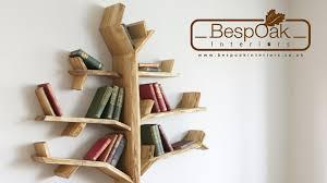 19 tree shaped bookshelf conarte library interior design