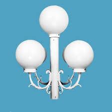 Outdoor L Post Lighting Fixtures Special 5 Acrylic Globes Exterior Post Light Wwwloveitlighting