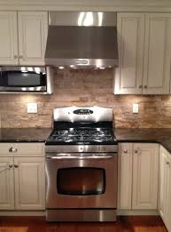 tumbled stone backsplash ideas