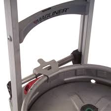 powered stair climber keg hook