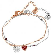 swarovski set bracelet images Simple swarovski necklaces heart swarovski crystal necklaces jpg