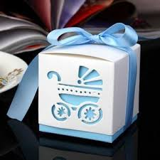 where to buy boxes for gifts online cheap free ship ribbon light blue or pink wedding favor