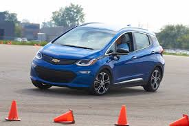 what you learn when you autocross a chevrolet bolt ev