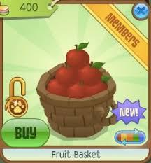 fruit and vegetable basket fruit and vegetable baskets animal jam item worth wiki fandom