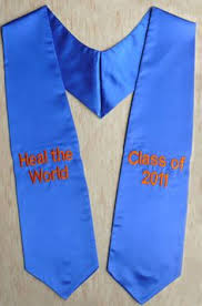 custom graduation sashes uaf alaska graduation stole aka a stole academic