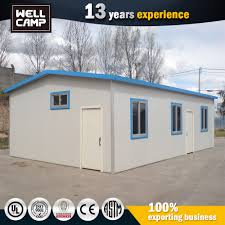 prefab cheap a frame house kit light steel structure 2 bedroom