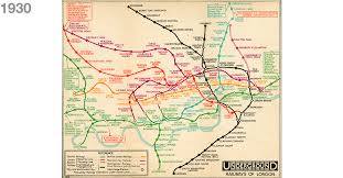 map of the underground in news 150th anniversary how the underground map evolved