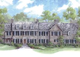 historic colonial house plans massive colonial house plan 13336ww architectural designs