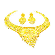 gold necklace sets images Buy south indian traditional gold necklace set jpg