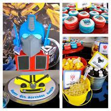 transformers party transformers birthday party wish