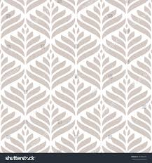 seamless pattern stylized floral modern ornament stock vector