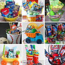 boys easter baskets 11 easter basket ideas for boys non gifts