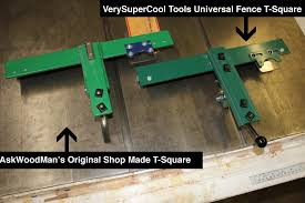how make a table saw how to make your own biesemeyer style table saw fence system