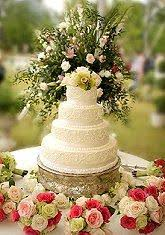Wedding Cake Flower Simple Wedding Cakes With Fresh Flowers Lovetoknow