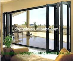 Bi Fold Glass Doors Exterior Cost Folding Glass Doors Exterior Folding Patio Exterior Glass Doors