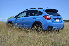 subaru crosstrek lifted blue 2016 subaru crosstrek manual review autoguide com news