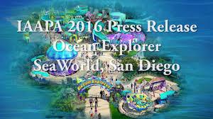 Sea World San Diego Map by Iaapa 2016 Ocean Explorer Seaworld San Diego From Seaworld Press