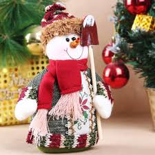 wholesale table ornament snowman design indoor christmas standing