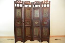 2 panel room divider palm tree room divider screen 4 panel wooden frame ebay